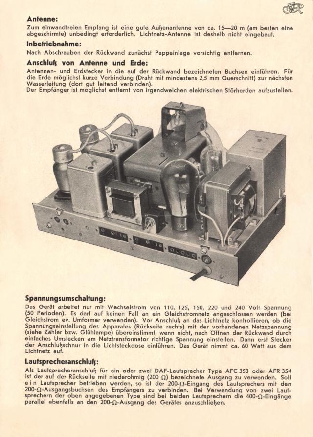 Bedienungsanleitung DAF 1011 Seite 2