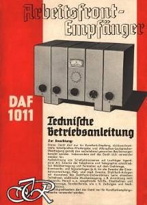 Bedienungsanleitung DAF 1011