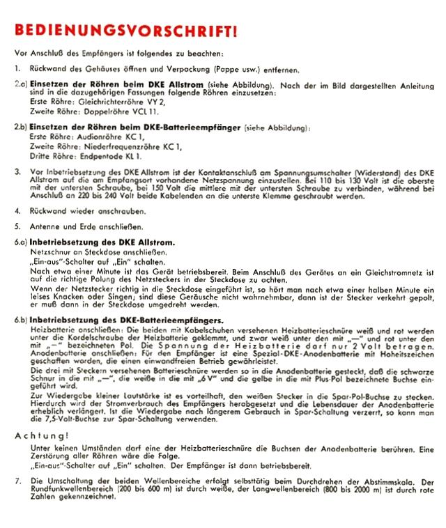 Bedienungsanleitung DKE 38 Seite 3