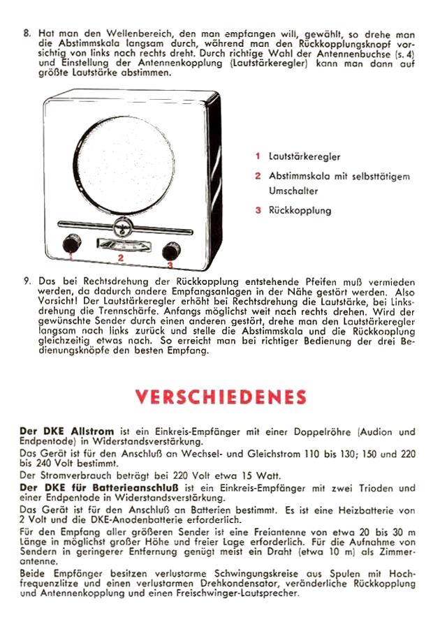 Bedienungsanleitung DKE 38 Seite 4
