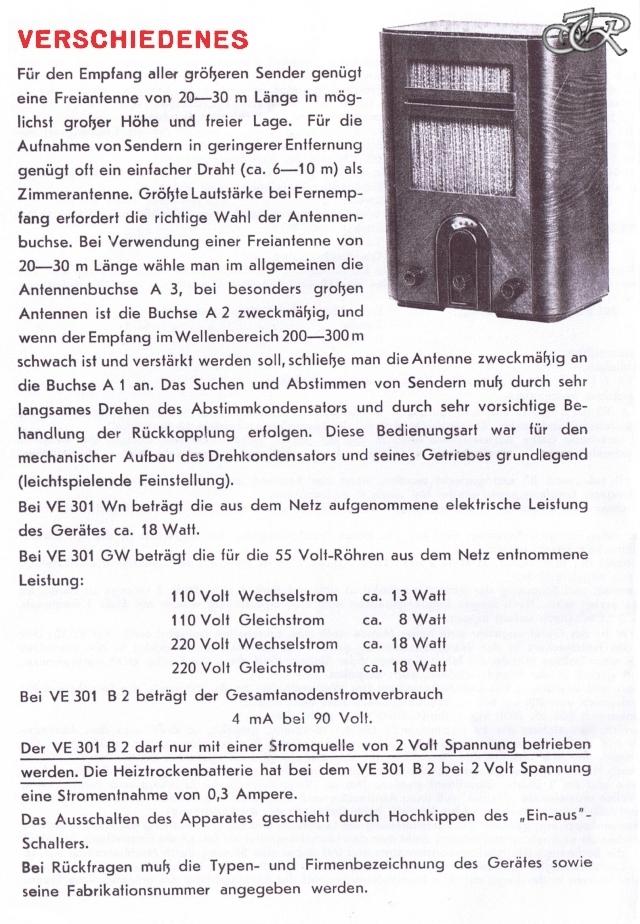 Bedienungsanleitung VE 301 Seite 4