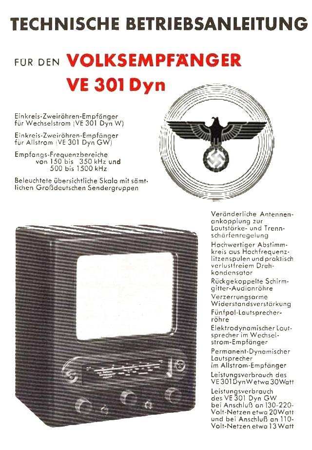Bedienungsanleitung VE 301 Dyn Seite 1
