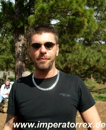 Ich! Auf Gran Canaria. Januar 2009