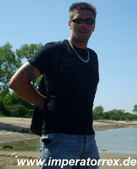 Ich! An der Wohlenberger Wiek. Mai 2009