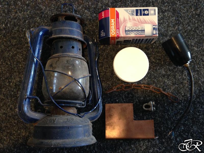 elektrische Petroliumlampe