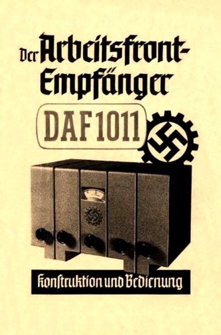 DAF 1011 Bedienung