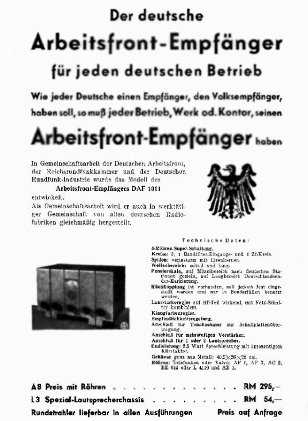 DAF 1011 Werbung