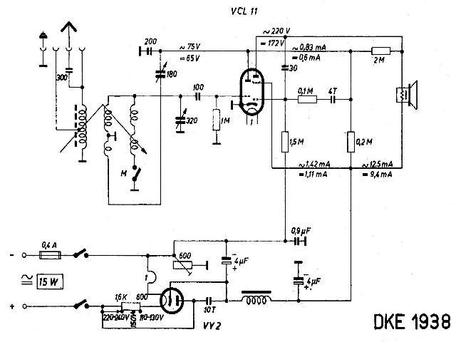 Schaltbild DKE 38
