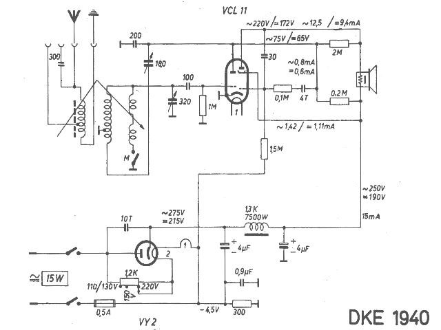 Schaltbild DKE 40