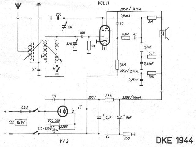 Schaltbild DKE 44