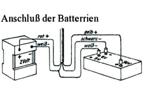 VE301B2- Batterieanschluss